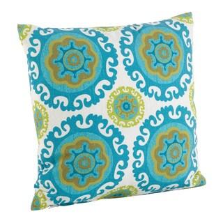 Kaleidoscope Pattern Poly Filled Throw Pillow