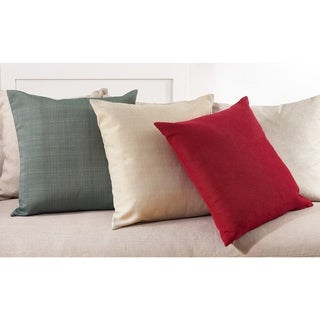 Soft Textured Poly Filled Throw Pillow