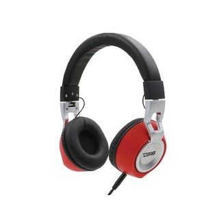 DS18 HDP Noise-isolating Over-ear Foldable Wired Mic and FM Radio Headphone