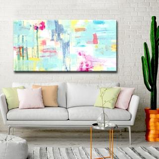 'Multi Color Pattern' Ready2HangArt Canvas by Dana McMillan