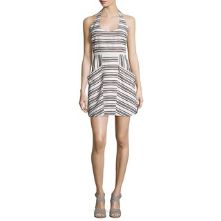 A.L.C. Women's Hudson Striped Halter Dress