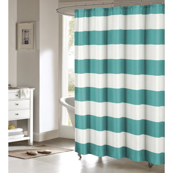 Toto Faux Linen Shower Curtain