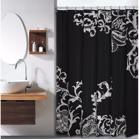ISABELLA F/S LARGE FLORAL SHOWER CURTAIN