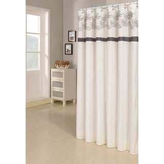 Dandelion Emb Shower Curtain