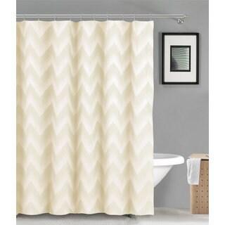 Maia Ikat Linen/Poly Shower Curtain