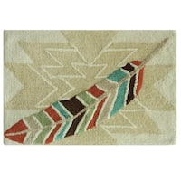 Southwest Boots Bath Rug by Bacova Guild