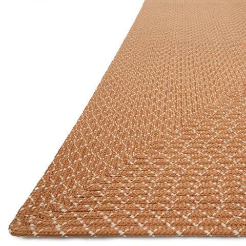 Indoor/ Outdoor Hand-woven Justin Rug (2'3 x 3'9) - 2'3 x 3'9