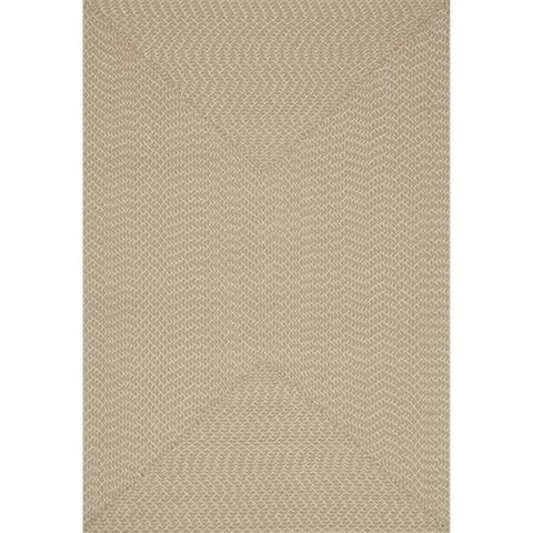Indoor/ Outdoor Hand-woven Justin Rug (5'0 x 7'6) - 5' x 7'6