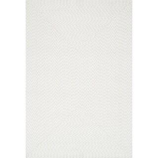 Indoor/ Outdoor Hand-woven Justin Rug (7'9 x 9'9) - 7'9 x 9'9