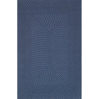 Indoor/ Outdoor Hand-woven Justin Rug (7'9 x 9'9)
