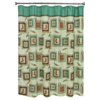 Bacova Guild Southwest Boots Shower Curtain