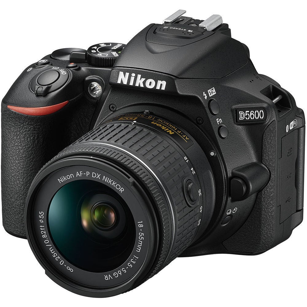 Nikon D5600 Dslr Camera with 18-55mm Lens, Black
