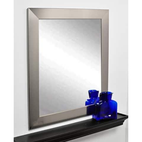 BrandtWorks Silver Framed Entry Way Wall Mirror