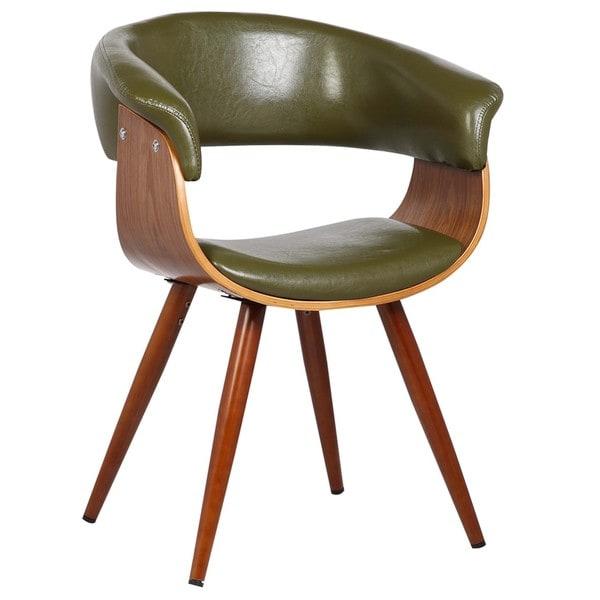 Porthos Home Mid Century Olive Green Zelda Side Chair