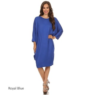Women's Solid Knit Dress