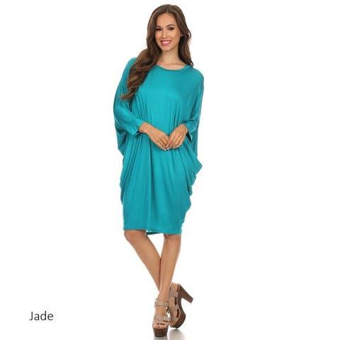 Women's Solid Knit Dress