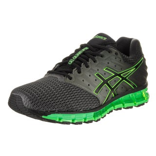 Asics Men's Gel-Quantum 180 2 Black Synthetic Leather Running Shoes