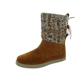 Toms Women's Nepal Brown Suede Size 6 Boot
