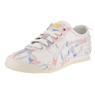 Onitsuka Tiger Women's Mexico 66 White Synthetic Leather Casual Shoe