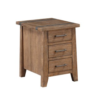 Emerald Home Viewpoint Plank Top Chairside Table