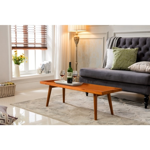 Shop Porthos Home Tray-Top Mid-Century Coffee Table