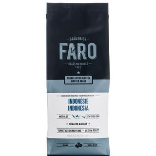 Faro Limited Roast Indonesian Whole Coffee Beans