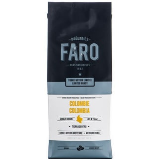 Best Tasting Faro Limited 0.8-pound Roast Columbian Tierradentro Single-origin Whole Coffee Beans