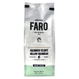 Faro Mellow Colombian 10-ounce Organic Fair Trade Ground Coffee