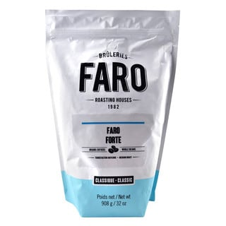 Faro Forte Espresso Blend 2-pound Whole Coffee Beans Delicious Neapolitan Coffee Blend