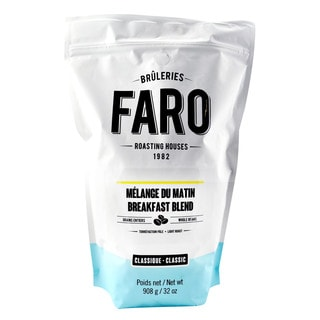 Faro Classic Breakfast Blend Light And Medium Roast Whole Bean 100-percent Arabica Coffee Blend