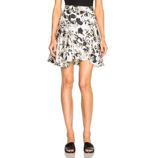 A.L.C. Women's Brien Silk Blend Floral Skirt