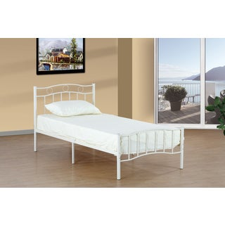 Donco Kids Metal Twin Bed in White or Black