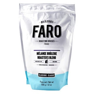 Faro Roasters Blend 2-pound 100% Arabica Beans With Powerful Dark Chocolate Flavor Fine Grind Coffee