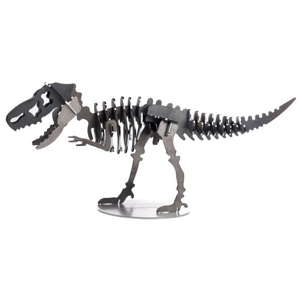 T-Rex Metal Dinosaur 3D 26-inch Puzzle - Charcoal