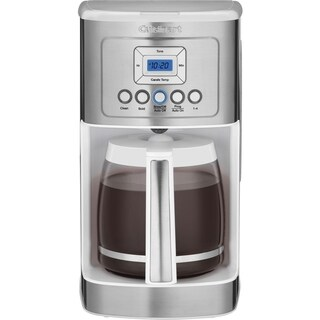 Cuisinart DCC3200WFR White 14 Cup Programmable Coffeemaker( Refurbished)