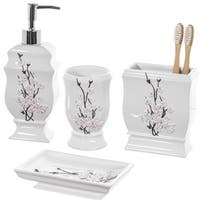 Vanda Bath Accessory 4-piece Set