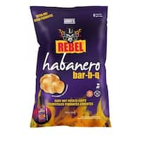 Aubrey D. Rebel Extra Hot Habanero Bbq Style Potato Chips