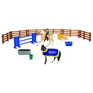 Breyer Stablemates Plastic English Play Set