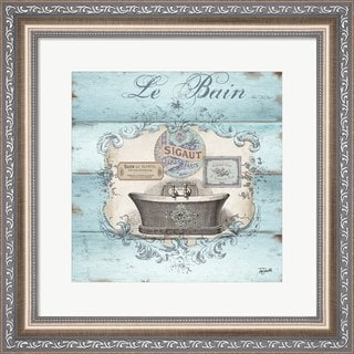 Tre Sorelle Studios 'Rustic French Bath II' Framed Wall Art