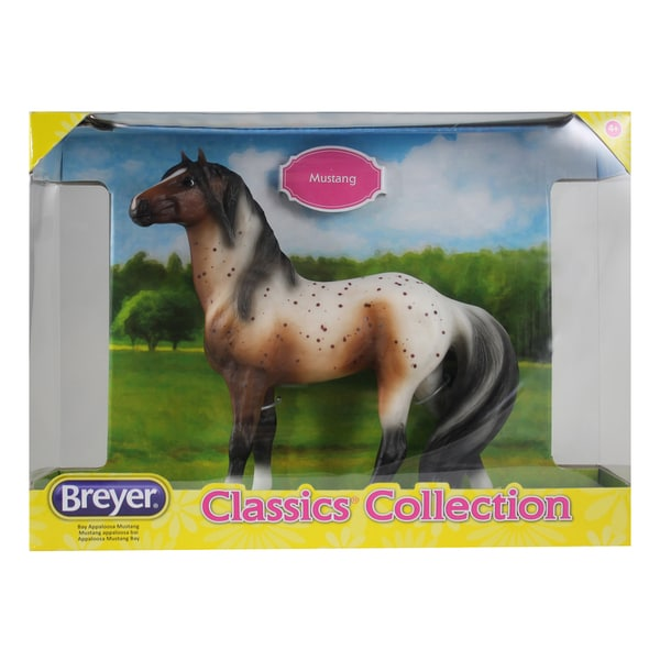 Breyer Classics Collection Bay Appaloosa Mustang Toy Figurine