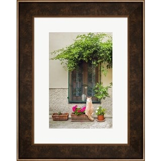 Michael Blanchette Photography 'Maurice the Cat' Framed Wall Art