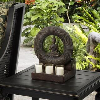 Bombay Outdoors Buddha Planter and Tealight