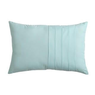 VCNY Home Solid Technique 12x18 Decorative Throw Pillow
