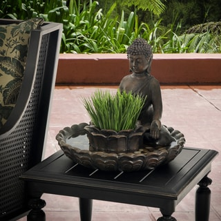 Bombay Outdoors Buddha Bird Bath Planter
