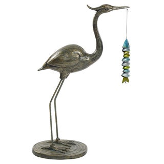 Bombay Outdoors Crane Sculpture