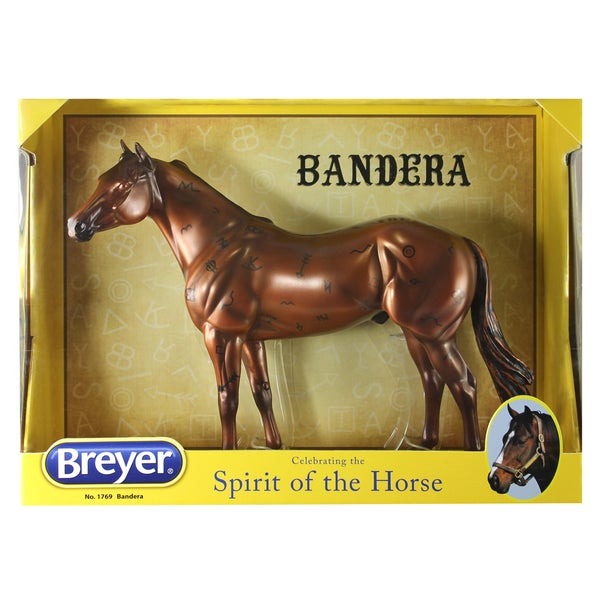 Breyer Traditional Series Bandera Brown Plastic 'Ranch' Horse
