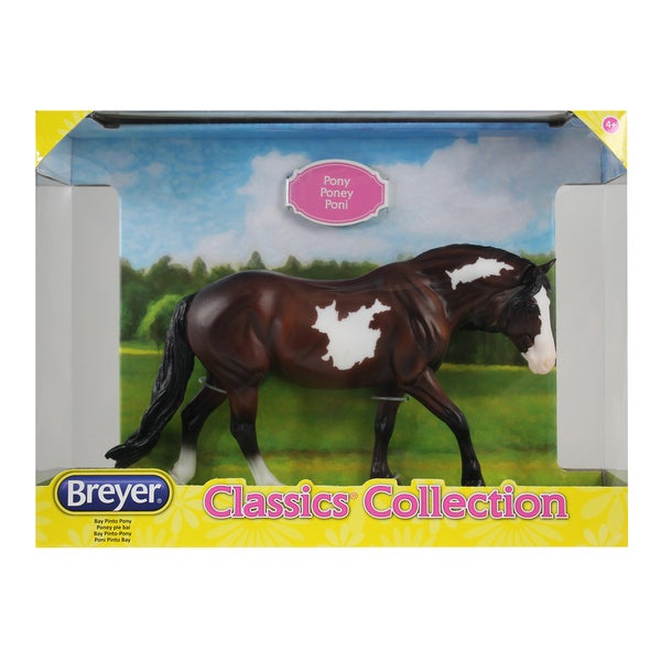 Breyer Classics Brown Plastic Bay Pinto Pony