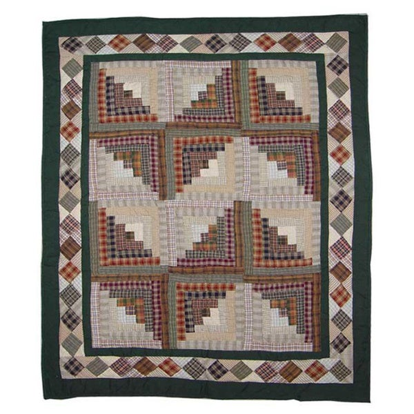 Shop Patch Magic Hand Quilted Cotton Patchwork Baby Quilt