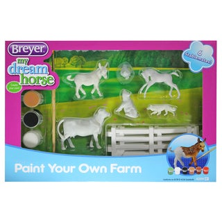 Breyer Stablemates My Dream Horse Paint Your Own Farm 6 Animals