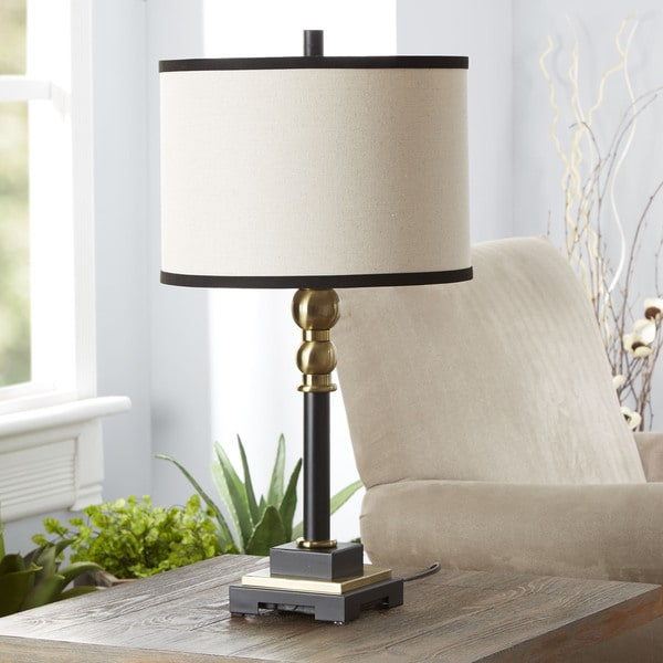 The Monroe Table Lamp with Shade